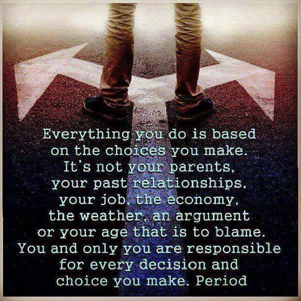 The Choice Quotes Fascinating Quotes Of The Day  The Choices We Make
