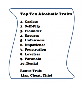 Alcoholic traits