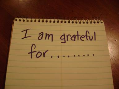 grateful for ...