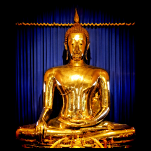 Revealed Golden Buddha of Thailand